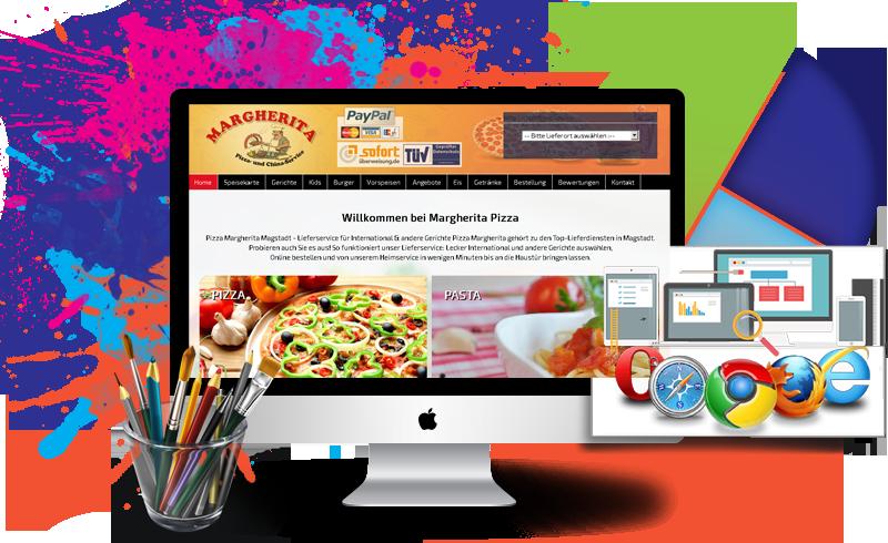 Homepage Wiederaufbau